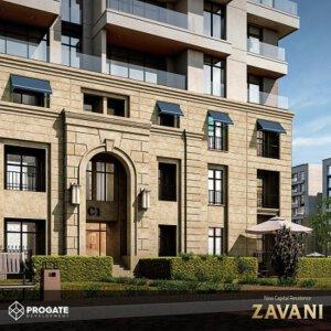 شقة للبيع في زافاني العاصمة الجديدة