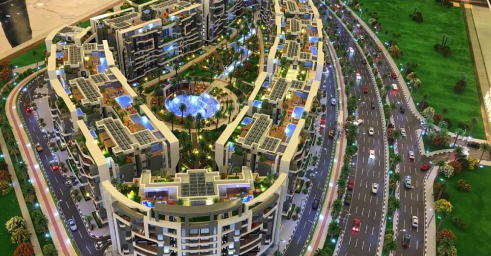 كمبوند ريفان العاصمة الادارية شركة التعمير العربية