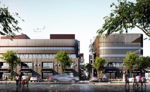 مولات الداون تاون العاصمة الادارية الجديدة