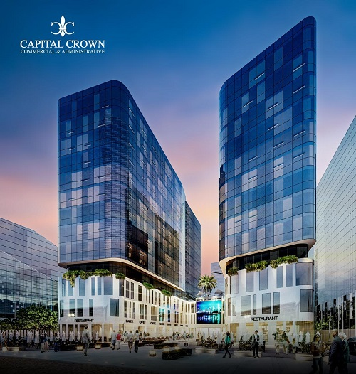 كابيتال كراون العاصمة الادارية الجديدة Capital Crown New Capital